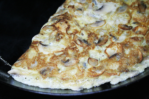 Tortilla de championes