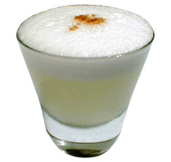 Receta de Pisco Sour
