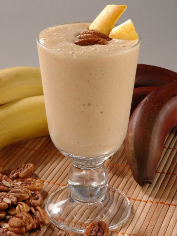 Receta de batido de pltano al ron