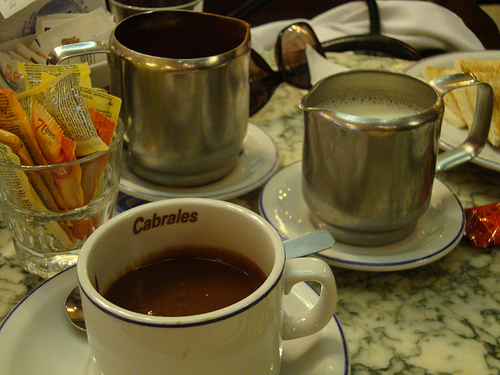 Receta de chocolate caliente al ron