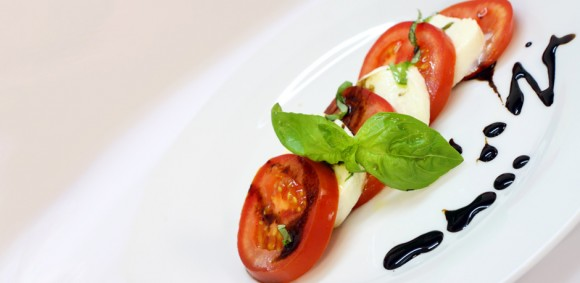 Caprese al aceto