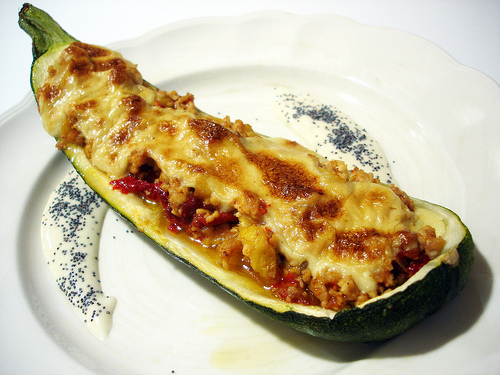 Calabacn relleno