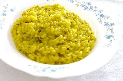 Rizotto de arroz