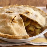 Receta del apple pie, compañero ideal de un vaso de ice tea