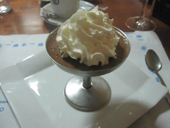 Mousse de yogur y chocolate 1